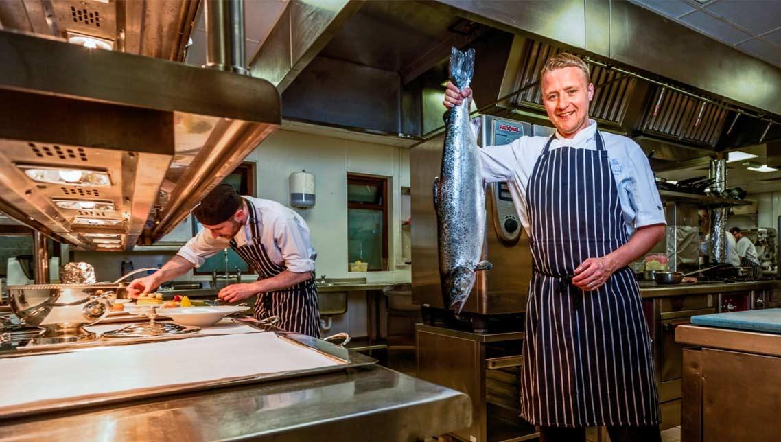 Johnny Leake, Head Chef at the Merchant Hotel